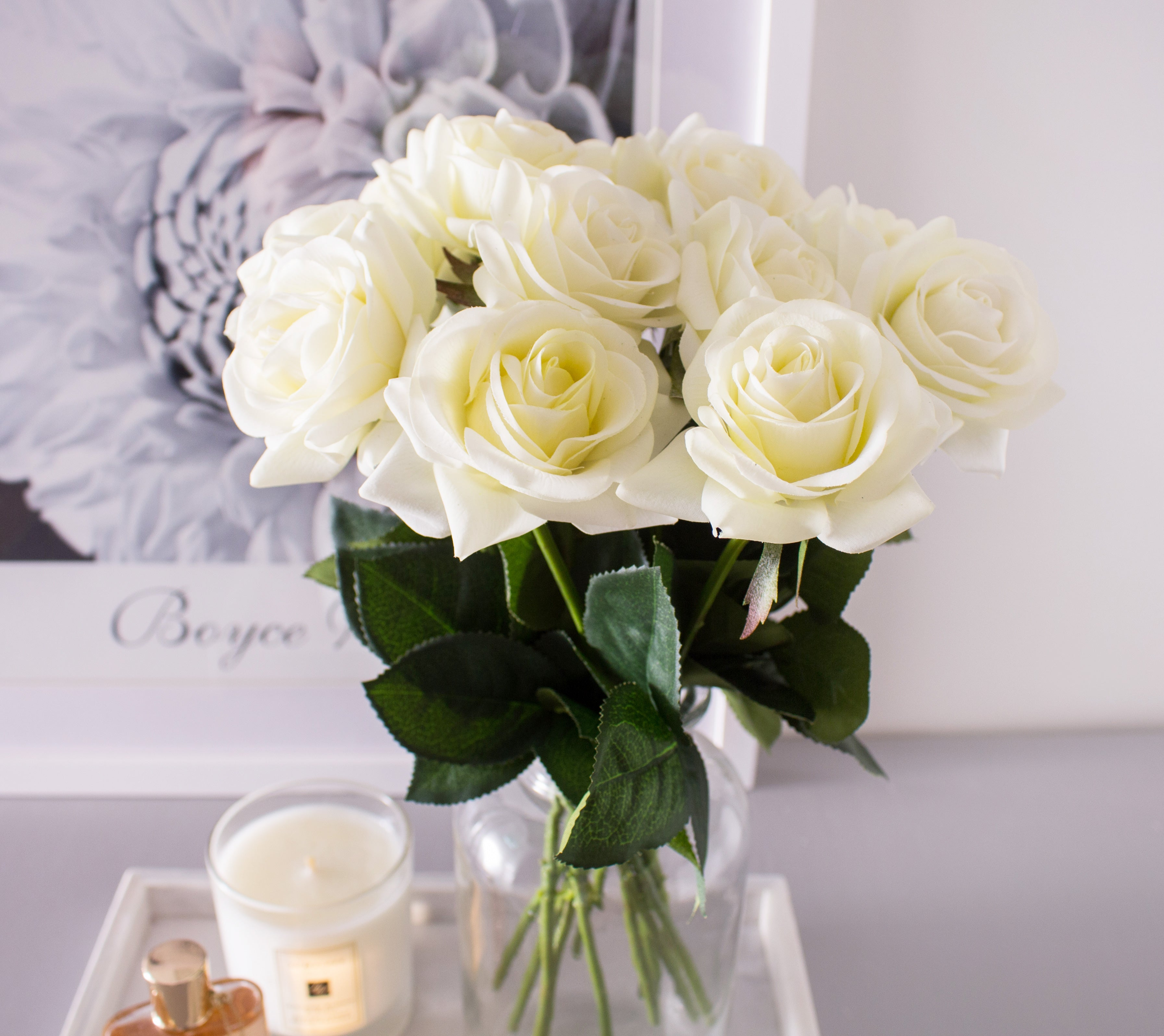 5pcs 20pcs white roses real touch silk flowers lana byanca floral 5pcs 20pcs white roses real touch silk flowers mightylinksfo