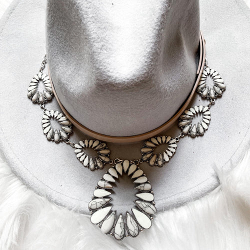 Ivory Monroe Necklace - The Lace Cactus