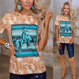 Crazy Train Palomino Punch Tee - The Lace Cactus