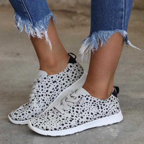 Not Rated Snow Leopard Slip-on Shoes