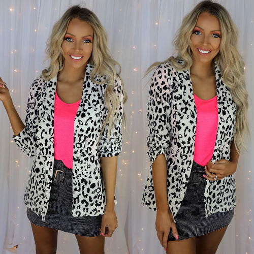 The Snow Leopard Blazer