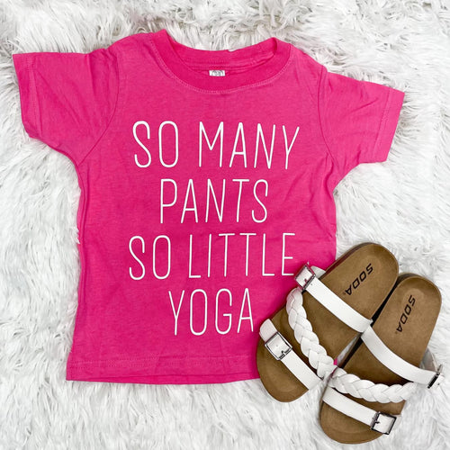 {KIDS} So Little Yoga Tee