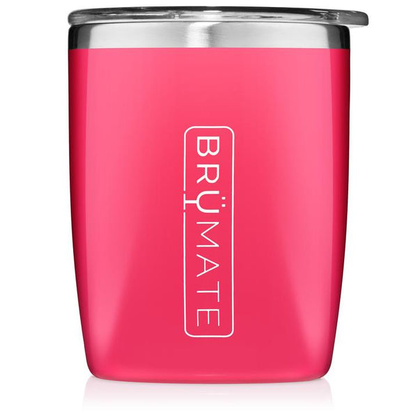 BRÜMATE ROCKS TUMBLER 12OZ | NEON PINK - The Lace Cactus