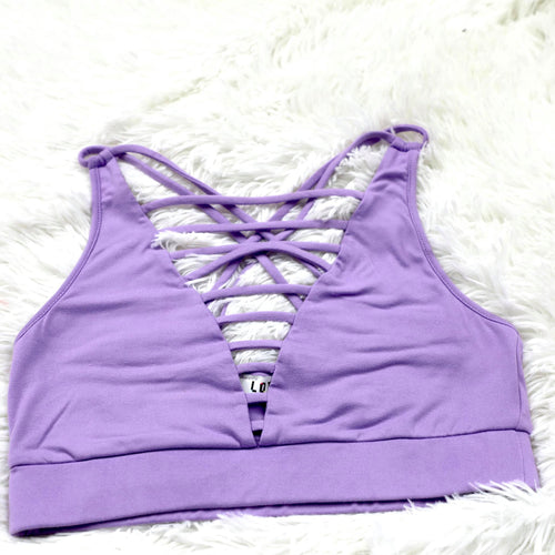 Lilac Ladder Bralette - The Lace Cactus