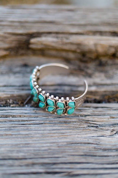 Tallahassee Turquoise Cuff - The Lace Cactus
