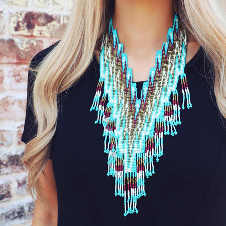 Flares of Turquoise Extra Fancy Earrings