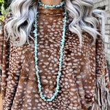 Boulder City Turquoise Stone Necklace