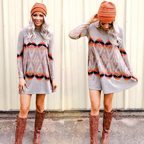 The Acadia Sweater Dress