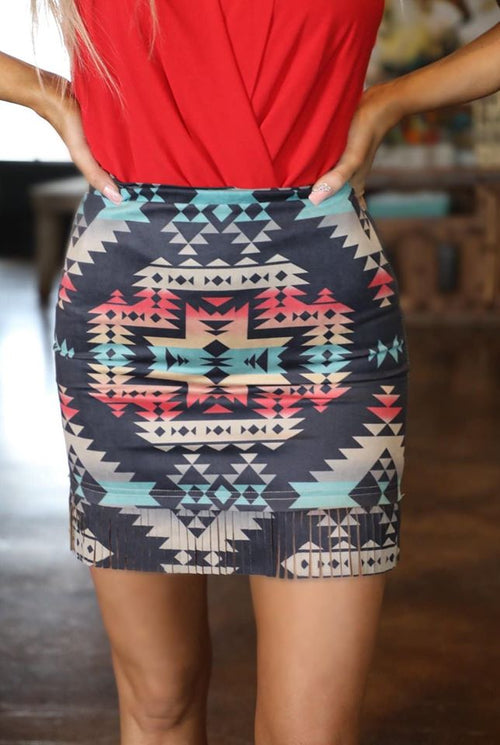 Open Range Tribal Skirt
