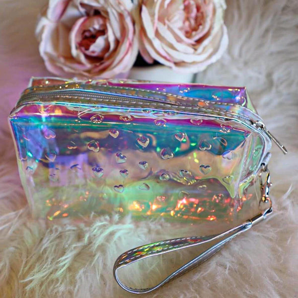 Clear Semi Transparent Pouch
