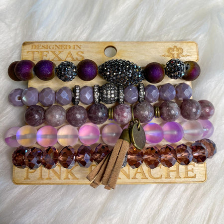 "Royal Purple Ear Tag ""Southern Charm"" Car Freshies"