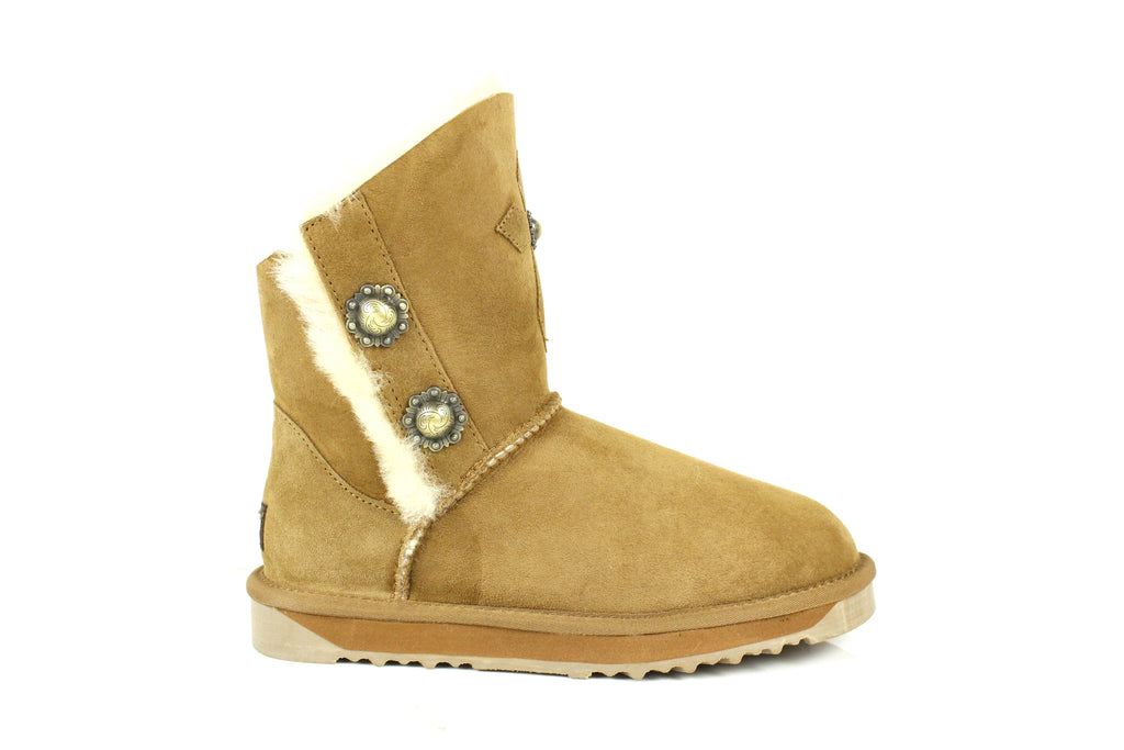 fed6ef916f12f5 UGG Short Boots Mary - Lady Fashion 2 Short Button