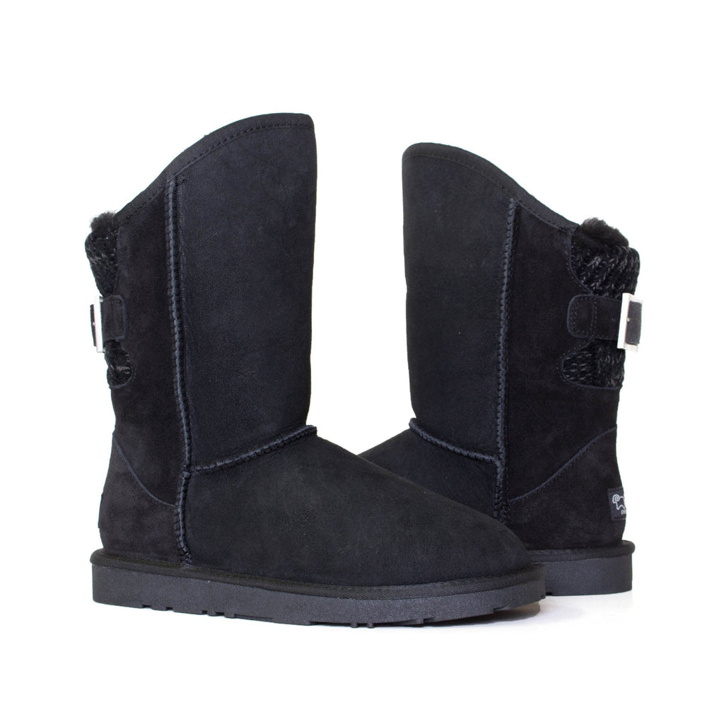 73bcedd0f9e972 UGG Boots Juliet - Ladies Fashion Buckle