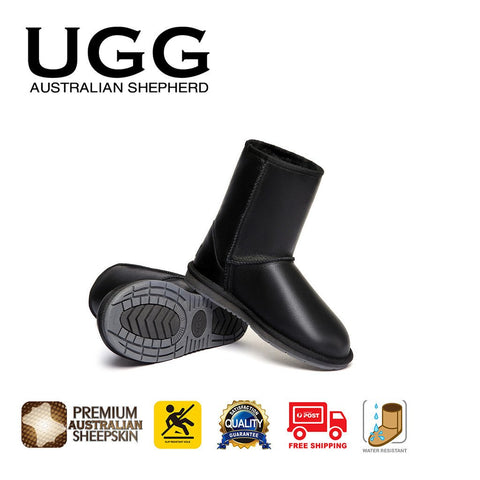 2a876b4d234f Australian Shepherd Water Resistant Unisex Short Classic Nappa UGG Boots - UGGs  Boots Australia