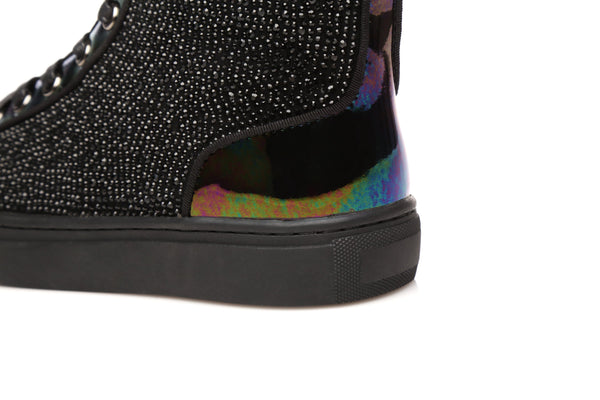 UGG Ladies Mini Boots Elsa - Rainbow Glitter Treadlite Lace up Shoes Australian Sheepskin Lining&Insole - UGGs Boots Australia