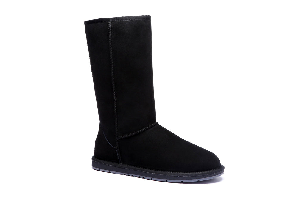 ... UGG Boots AS Tall Classic Unisex, Premium Australian Double Faced Sheepskin, Water Resistant Non ...
