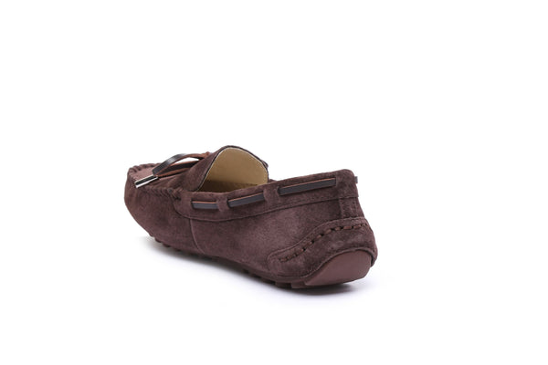 UGG Ladies Summer Lace Moccasins Loafer,rubber sole,indoor/outdoor flat shoes - UGGs Boots Australia