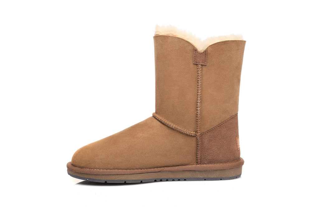 1029c0f084 ... low price australian shepherd water resistant ladies short button ugg  boots uggs boots australia 99845 514ad