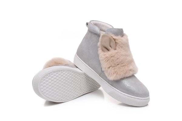 UGG ankle Boots Bonny - Australian Sheepskin, Non slip Sole, Ladies Winter Shoes - UGGs Boots Australia