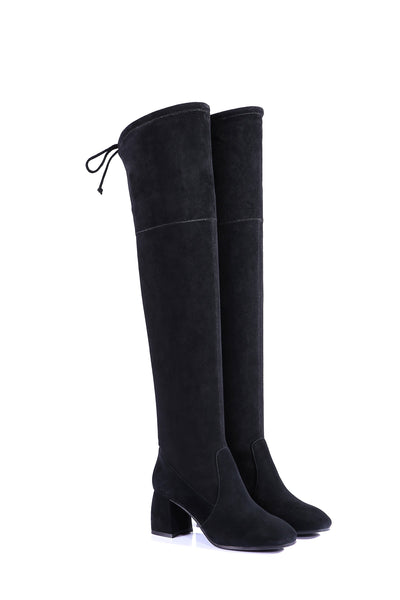 UGG Fashion Heeled Over The Knee Boots Selina - UGGs Boots Australia
