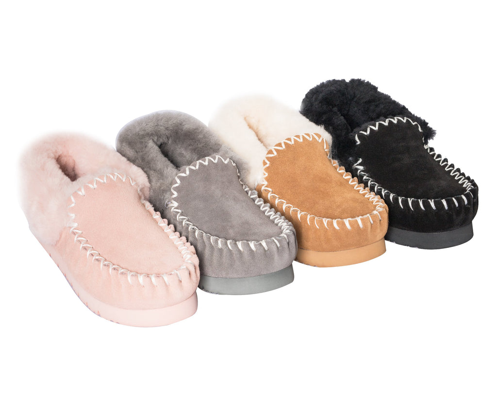 e1a7353a22 UGG Popo Unisex Moccasins Slippers