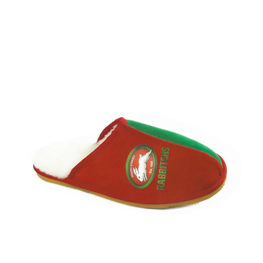 NRL Official Licensed UGG Adult Unisex Slippers South Sydney Rabbitohs - UGGs Boots Australia