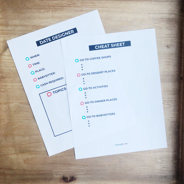 Marriage Communication Journal *Printable*