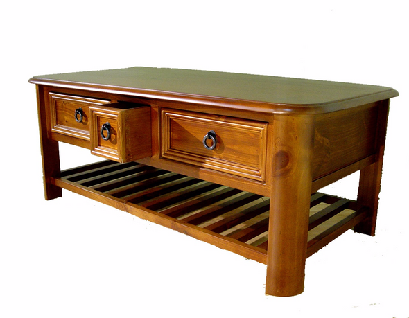 3 Drawer Coffee Table