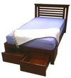 Darwin Bed with Storage