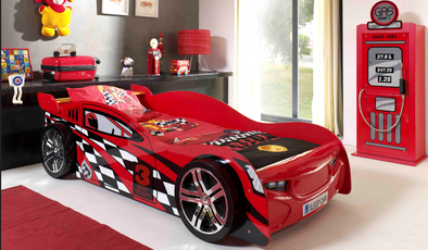 Night Speeder Car Bed