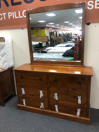 Romeo 6 Drawer Dresser & Mirror