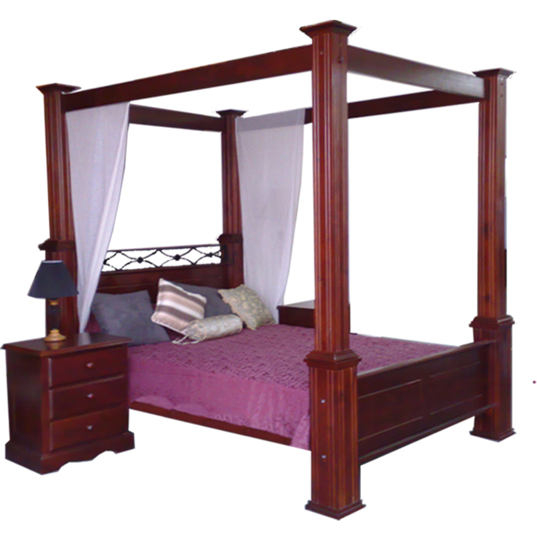 index furniture four heirloom quality bed poster beds jacobean flute
