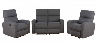 Oxford 3 Piece Recliner Suite