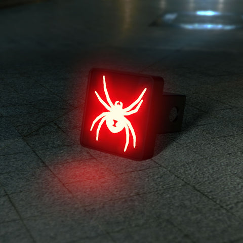 Black Widow Spider LED Hitch Cover and Brake Light