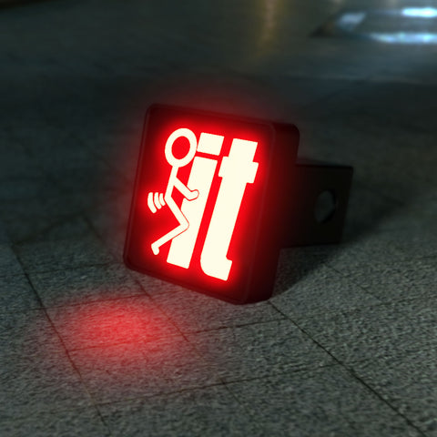 F*ck It LED Hitch Cover - Third Brake Light