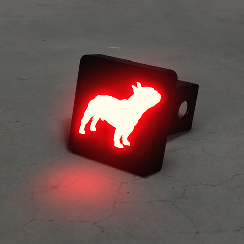 French Bulldog LED Brake Hitch Cover