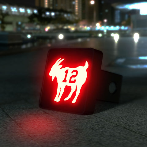 Goat Animal LED Hitch Cover - Third Brake Light