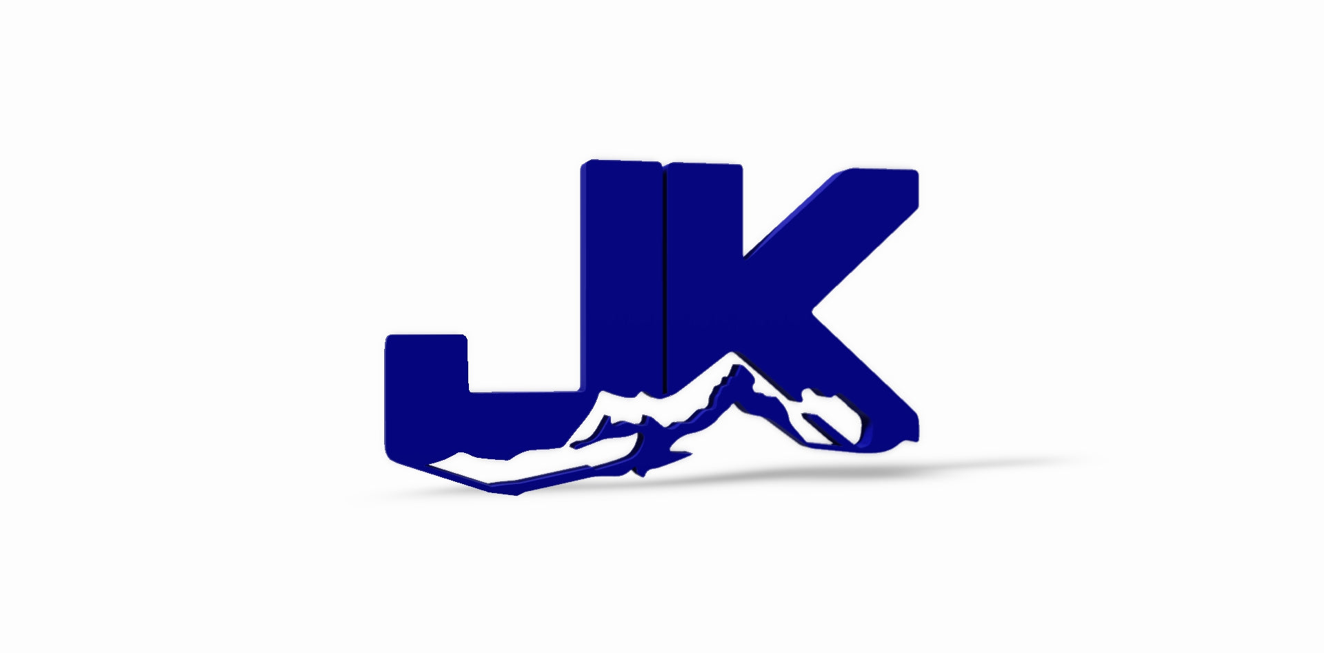 "JK 3D Thermoplastic Emblem 5"" in. x 3"" in."
