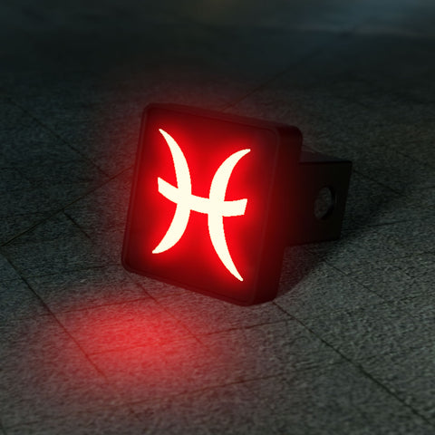 Pieces Zodiac LED Brake Hitch Cover