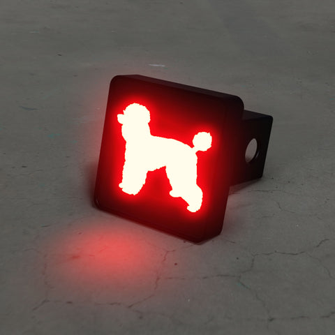 Poodle LED Brake Hitch Cover