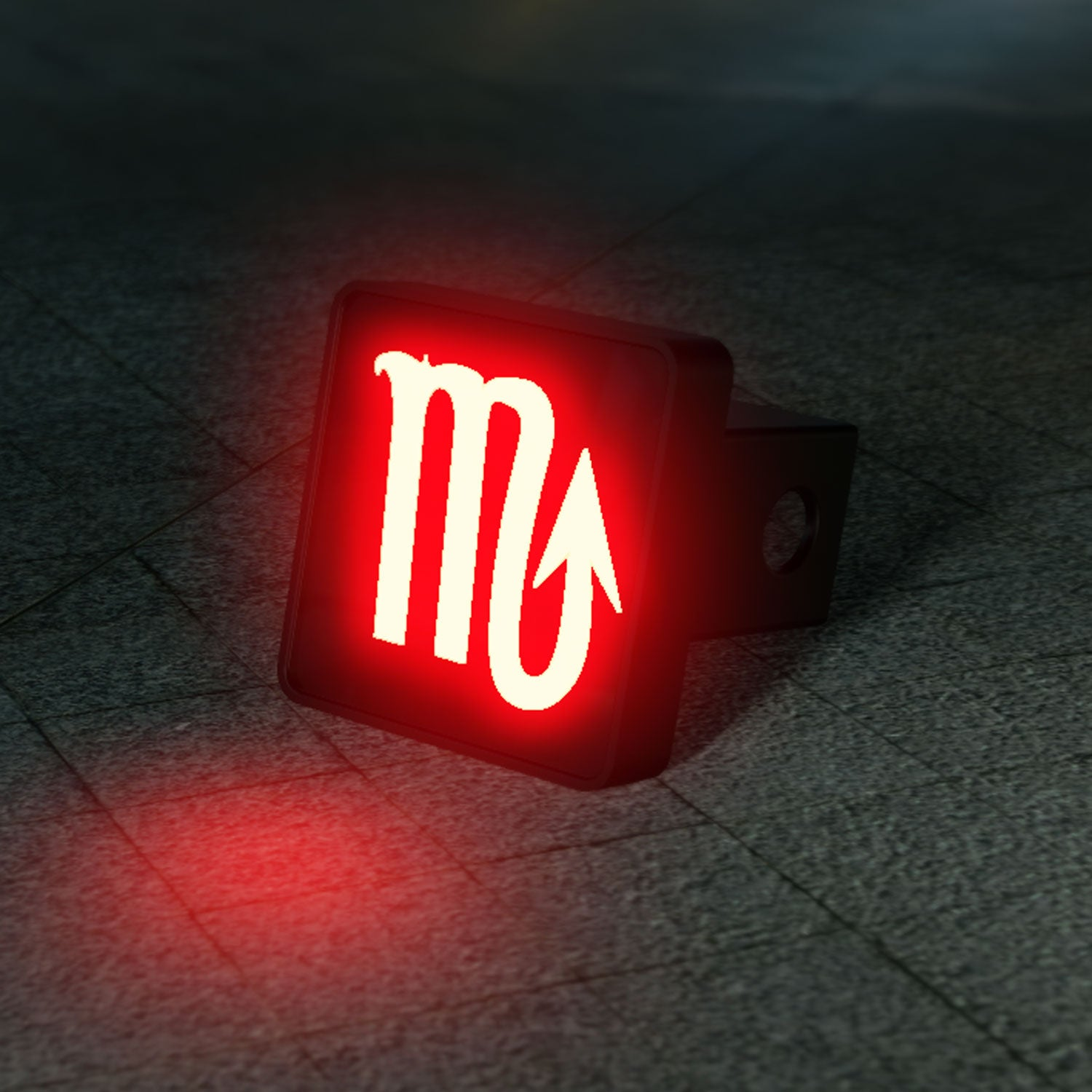 Scorpio Zodiac LED Brake Hitch Cover