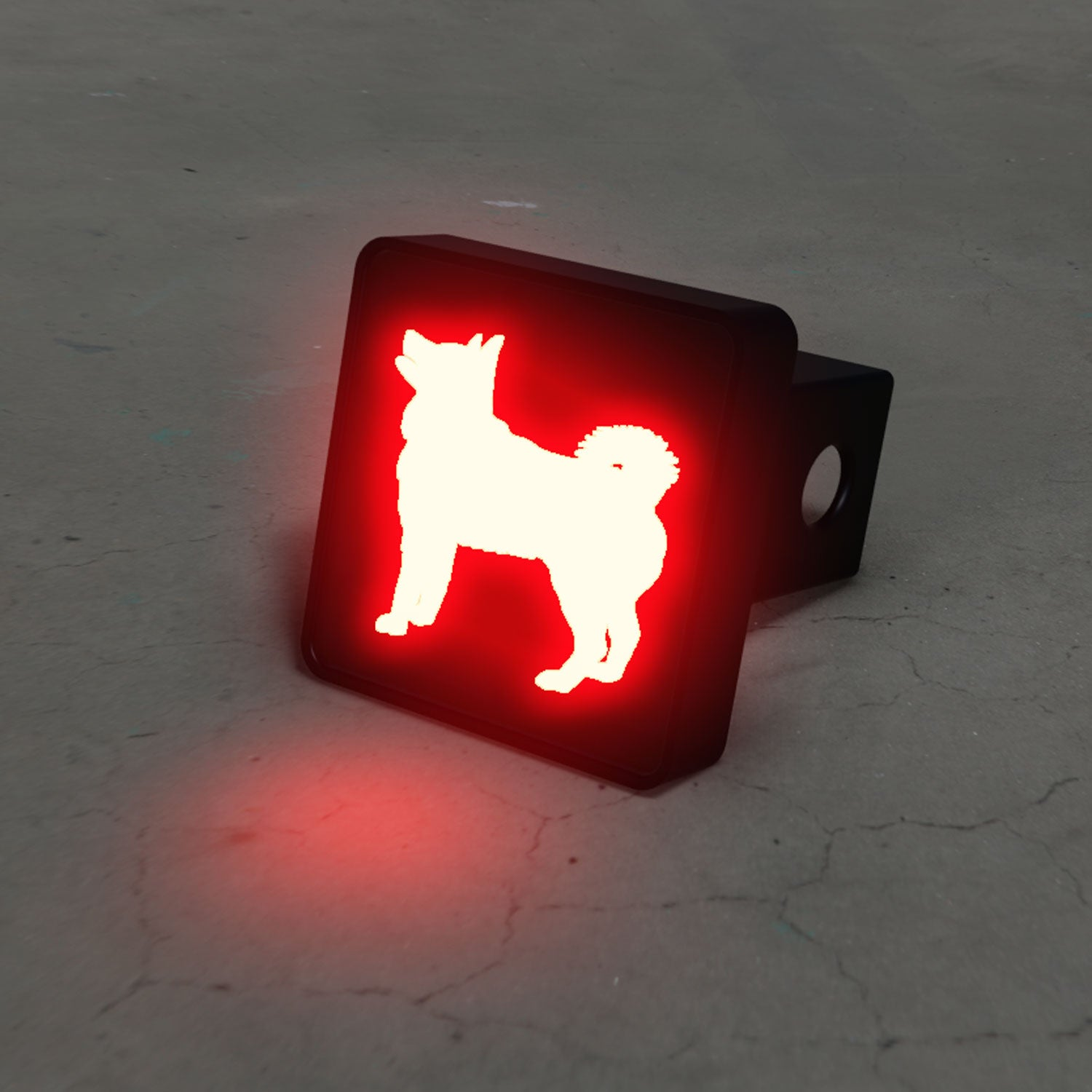 Siberian Husky LED Brake Hitch Cover