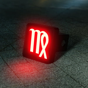 Virgo Zodiac LED Brake Hitch Cover