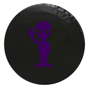 Alien Peace Vinyl Spare Tire Cover