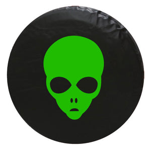 Alien Face Vinyl Spare Tire Cover