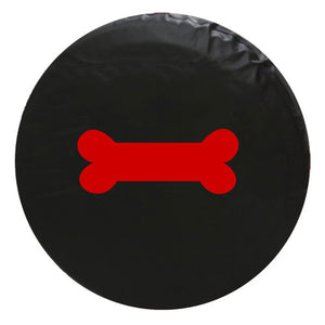 Dog Bone Vinyl Spare Tire Cover