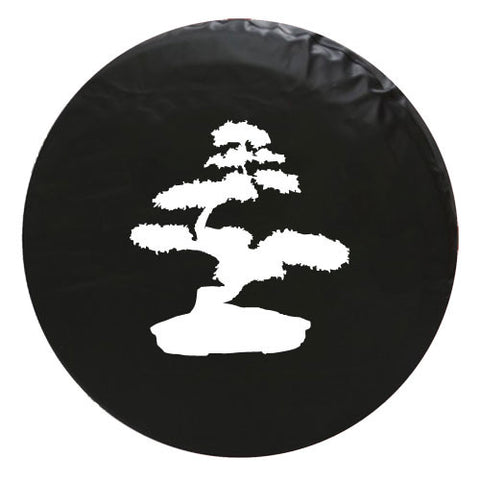 Bonsai Tree Vinyl Spare Tire Cover