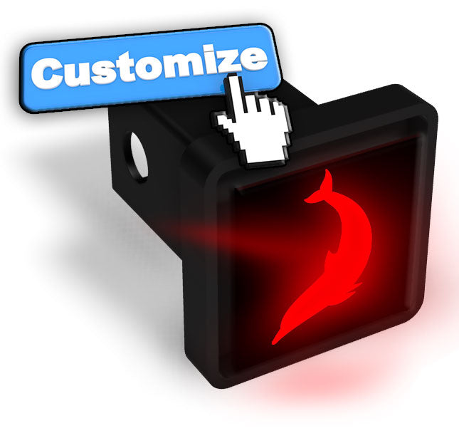 Design Your Own Custom LED Hitch Cover - Brake Light