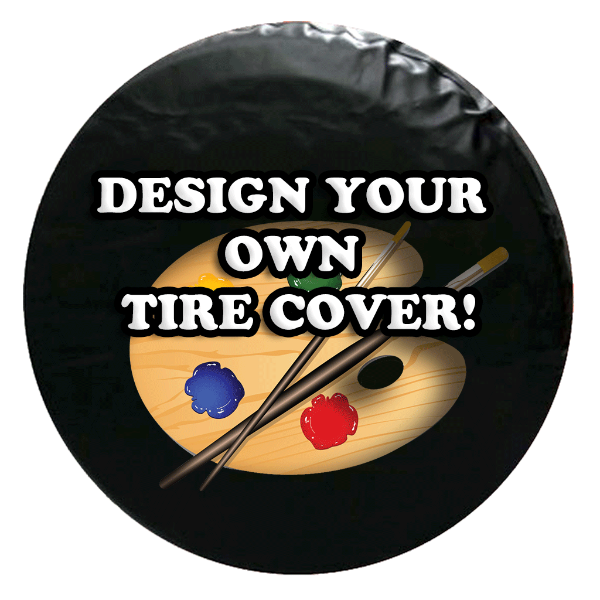 Custom Spare Tire Cover - Upload our Design!