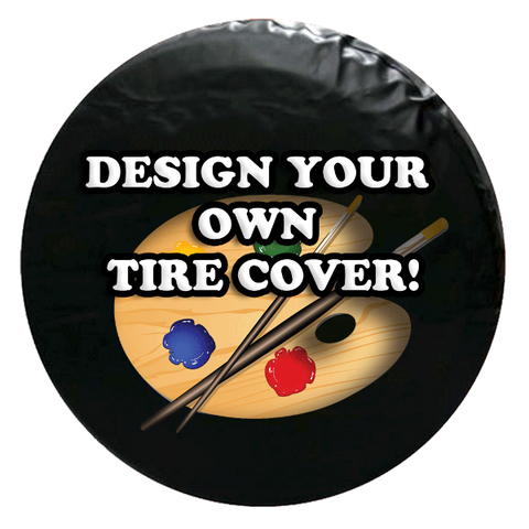Custom Spare Tire Cover - Design Online!